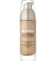 MAYBELLINE New Dream Satin Liquid Foundation nude