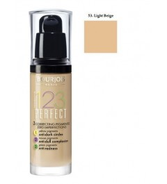 Bourjois 123 Perfect Foundation Spf 10 - No. 53 Light