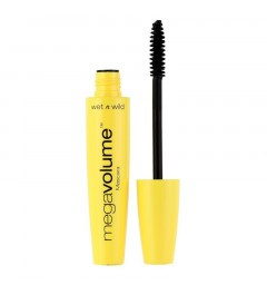 WET N WILD MEGA VOLUME MASCARA EC138 VERY BLACK 8 ML